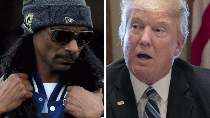 Zu krass? Snoop Dogg erschießt Trump-Double in Musik-Video