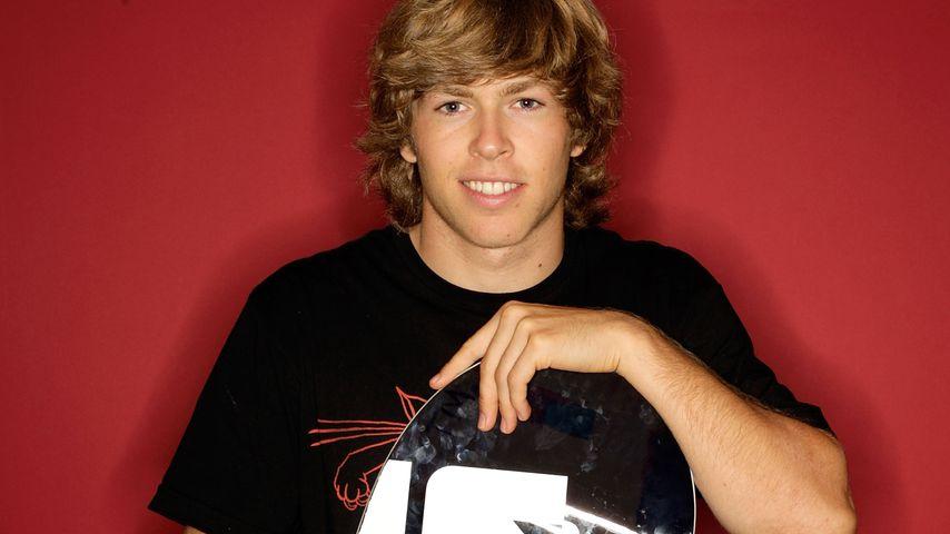 Snowboard-Star Kevin Pearce vor seinem Unfall 2009