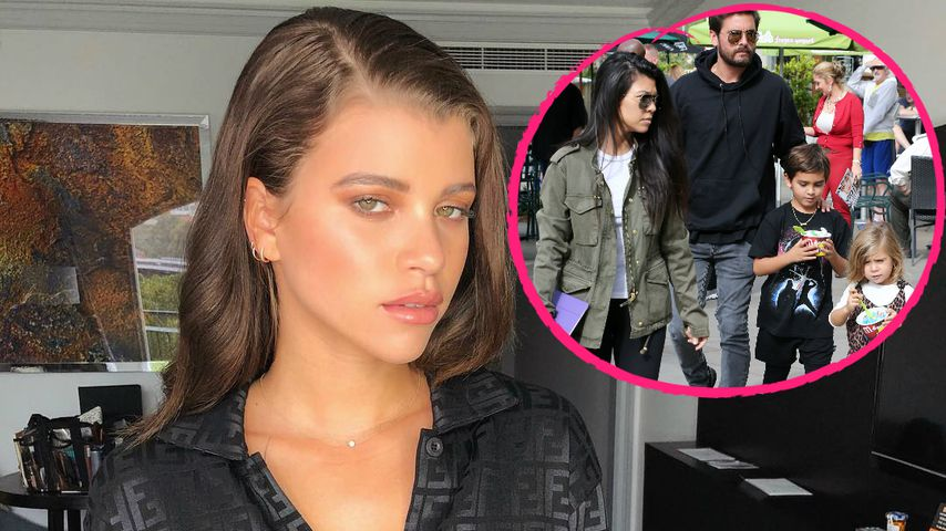 Sofia Richie ist sauer, weil Scott Kinder mit Kourtney will!