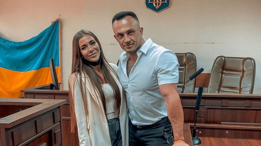 Sofia und Dmitriy Stuzhuk