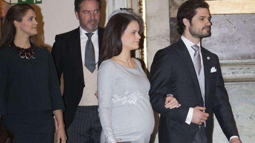 Nach Oscars Geburt: So hochschwanger ist Prinzessin Sofia!