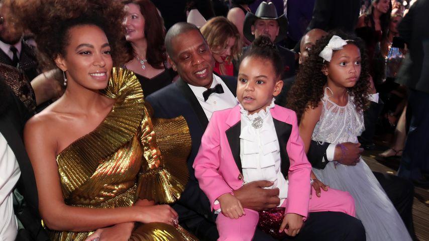 Solange Knowles, Jay-Z, Blue Ivy Carter und Madison Brown