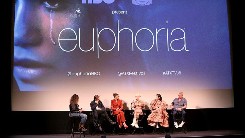 Sonia Saraiya, Sam Levinson, Zendaya, Hunter Schafer, Barbie Ferreira und Eric Dane
