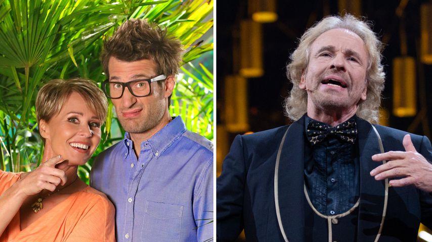 Dschungelshow: Sonja und Daniel dissen Thomas Gottschalk!