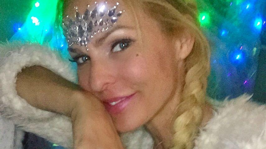 Moderatorin Sonya Kraus beim Burning Man Festival 2018