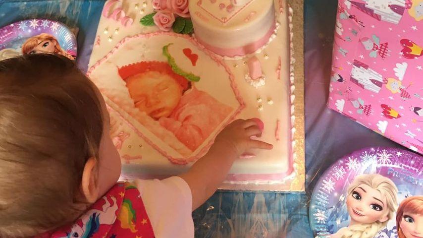 Sophia Cordalis an ihrem 1. Geburtstag
