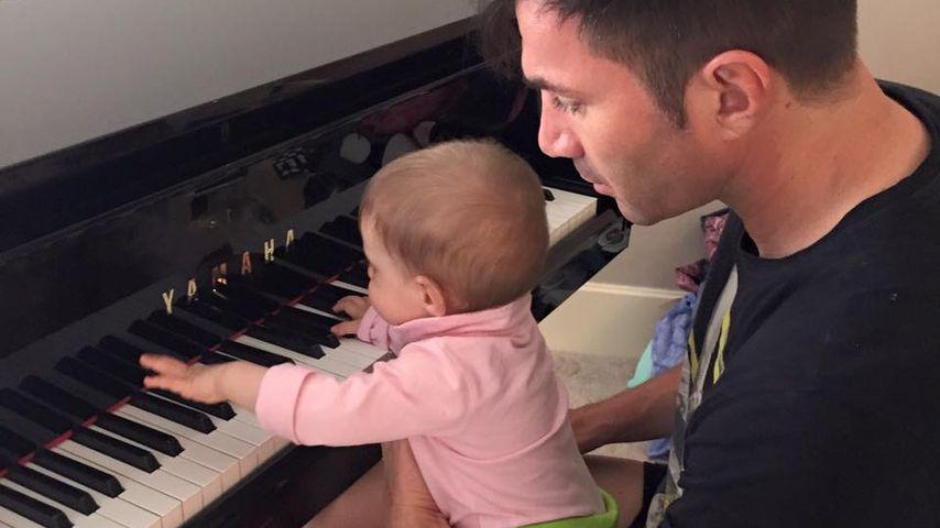 Ganz der Papa: Sophia Cordalis geht jetzt unter die Musiker!