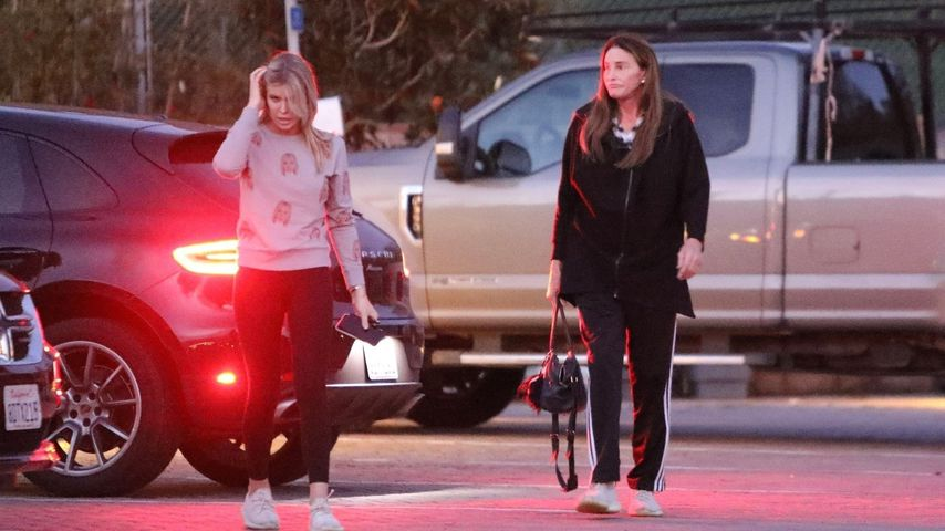 Sophia Hutchins und Caitlyn Jenner, Dezember 2019