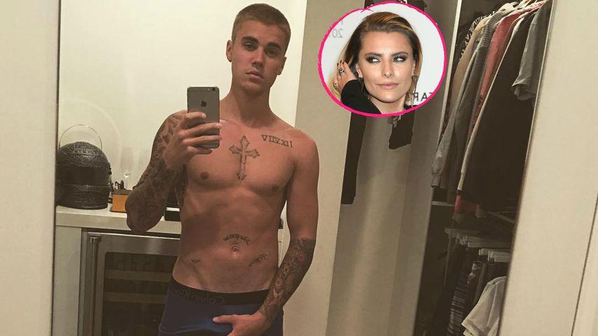 """""""Mädchen mit Tattoos"""": Sophia Thomalla disst Justin Bieber"""