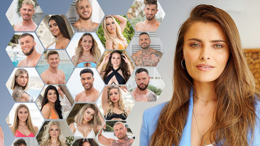 """Sophia Thomalla mit dem """"Are You The One – Reality Stars in Love""""-Cast"""