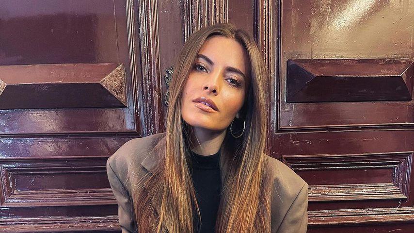 Sophia Thomalla im April 2021 in Berlin