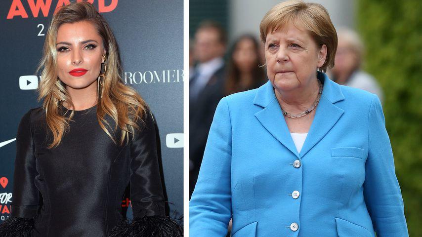 Kaum Gesundheits-Infos: Sophia Thomalla verteidigt Merkel