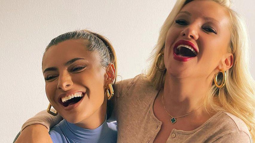 Sophia Thomalla und Evelyn Burdecki