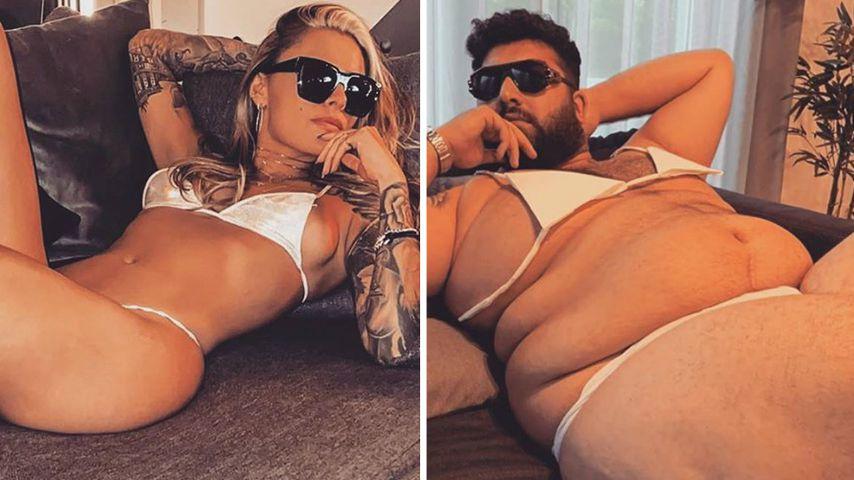 Sophia vs. Faisal: Welches Bikini-Bild kommt besser an?