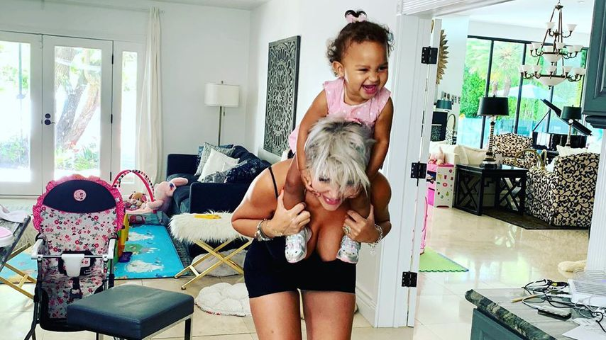 Zerzauste Frisur! Sophia Vegas teilt süßes Bild mit Amanda