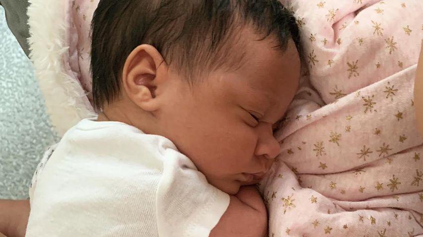 Sophia Vegas' kleine Tochter Amanda