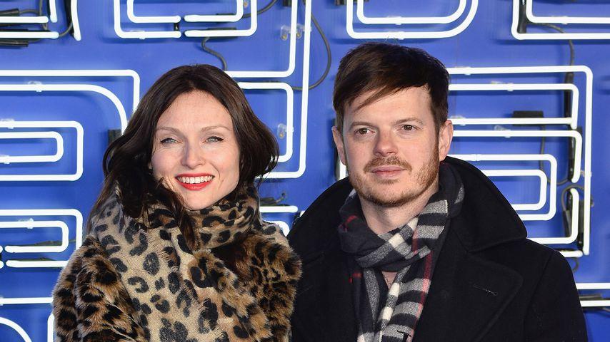 Sophie Ellis-Bextor und ihr Mann Richard Jones im März 2018