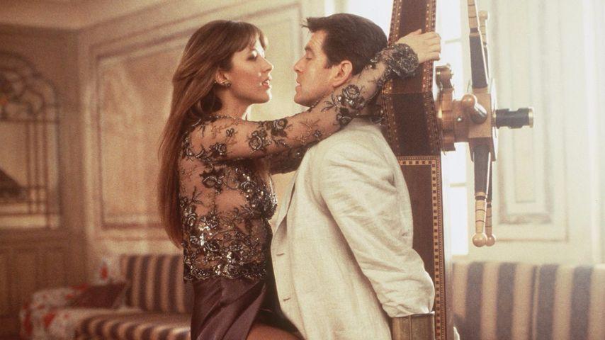 """Sophie Marceau und Pierce Brosnan in """"James Bond"""""""