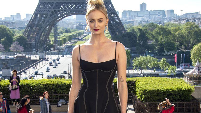 Sophie Turner in Paris