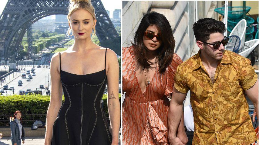 Kurz vor Hochzeit: Sophie Turner empfängt Nick & Priyanka