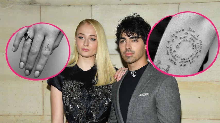 Sophie Turner & Joe Jonas präsentieren ihre neuen Tattoos