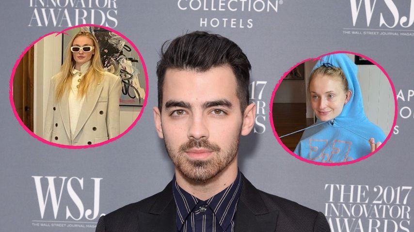 """""""Zwei Gesichter"""": So süß gratuliert Joe Jonas seiner Sophie"""