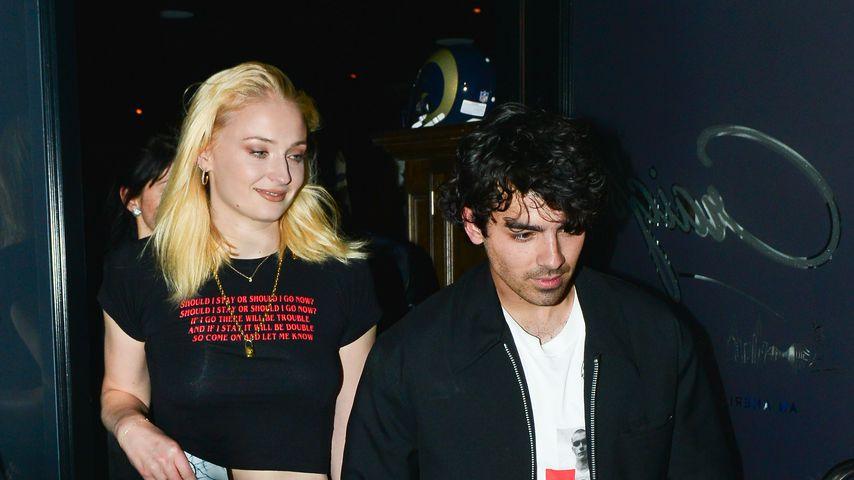 Sophie Turner und Joe Jonas in Hollywood im September 2018