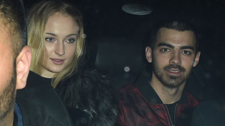 Sophie Turner mit Joe Jonas in London