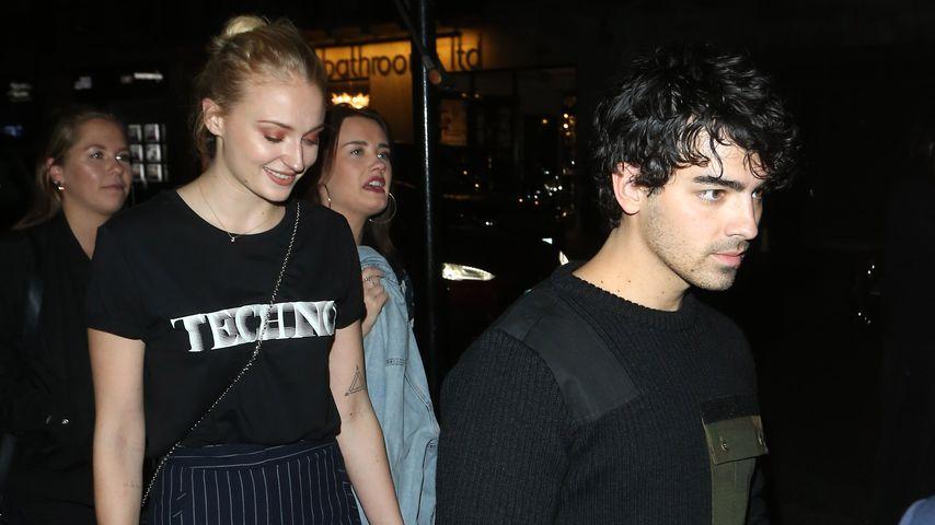 Sophie Turner und Joe Jonas in London