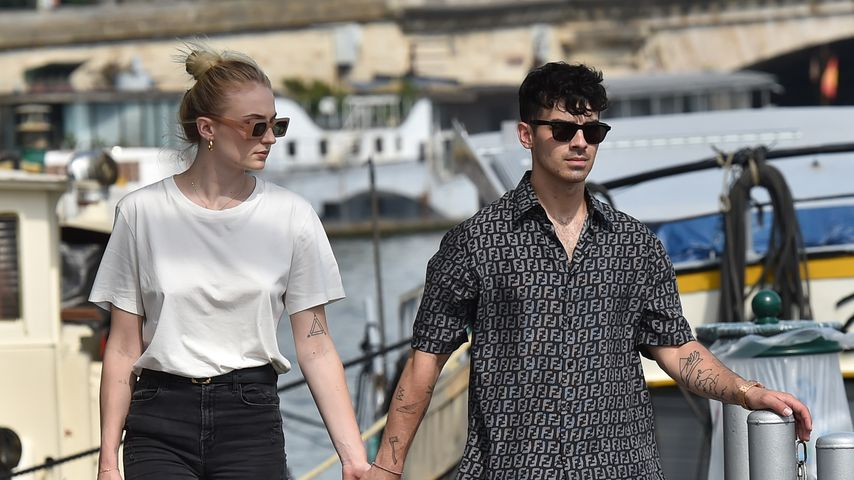 Sophie Turner und Joe Jonas in Paris