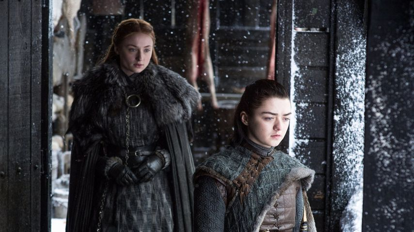"Sophie Turner und Maisie Williams in ""Game of Thrones"", Staffel 7"