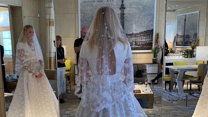 Sophie Turner in ihrem Hochzeitskleid