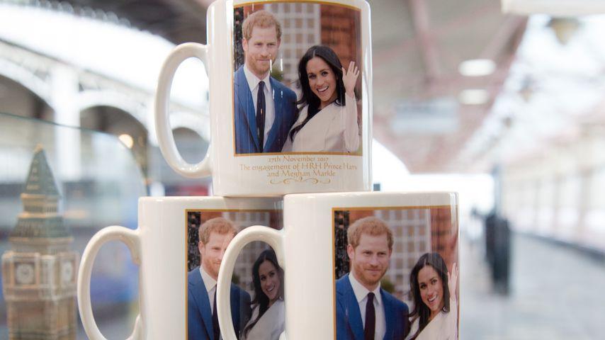 Hochzeits-Souvenirs von Prinz Harry und Meghan Markle