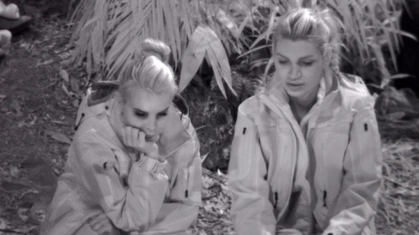 Tatjana Gsell und Giuliana Farfalla im Dschungelcamp an Tag 5