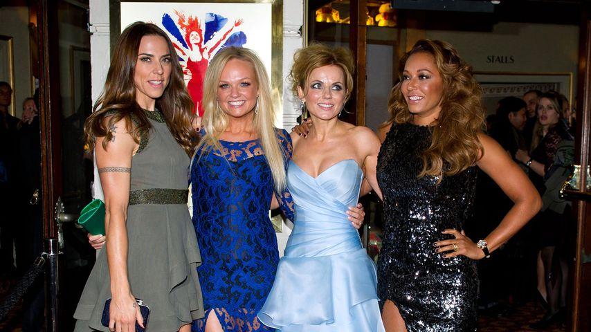 Spice Girls im Dezember 2012