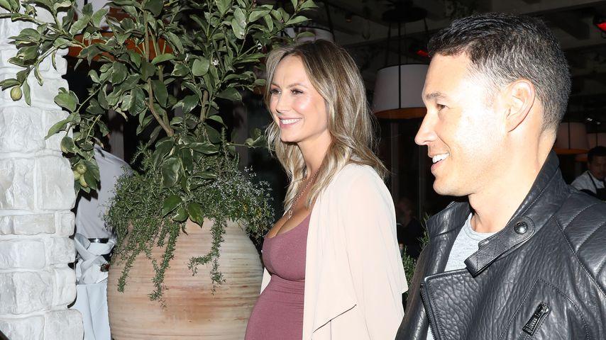 Stacy Keibler mit ihrem Ehemann Jared Pobre in Beverly Hills