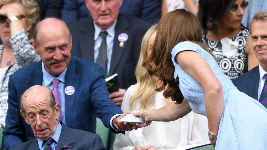 Süße Geste in Wimbledon: Kate bekommt Geschenk für Louis!