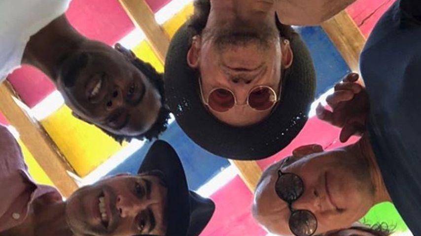 Chris Rocks Star-Selfie mit Bono, Woody Harrelson, Matthew McConaughey u.v.m.