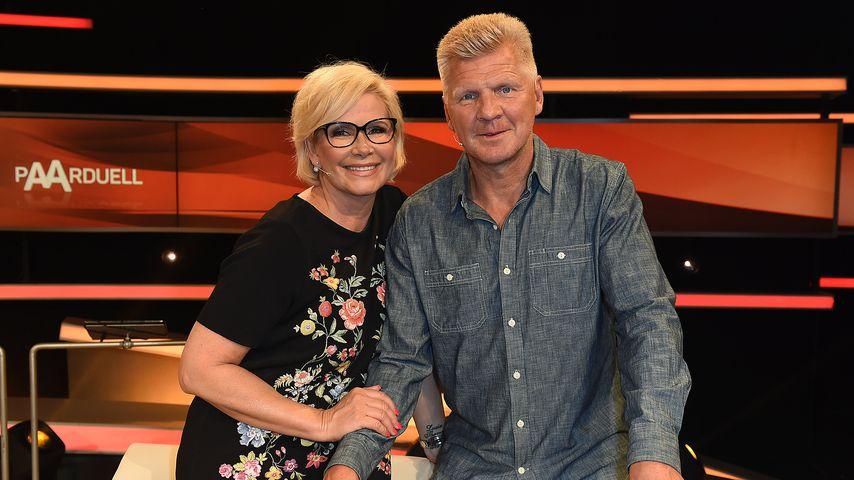 Stefan und Claudia Effenberg in einer TV-Show