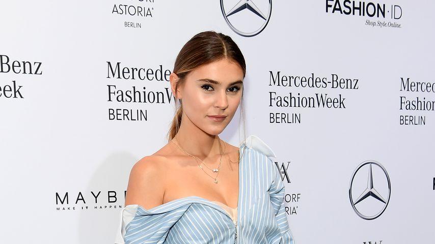 Stefanie Giesinger bei der Mercedes Benz Fashion Week 2018