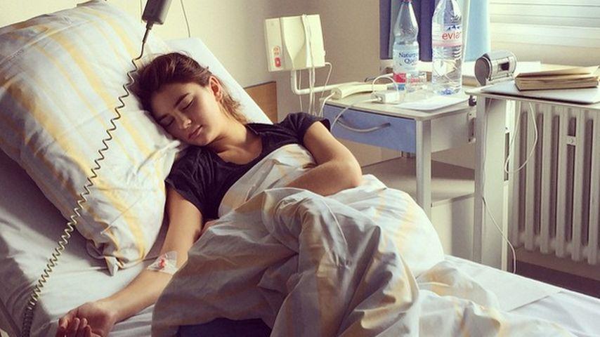 Stefanie Giesinger im Krankenhaus