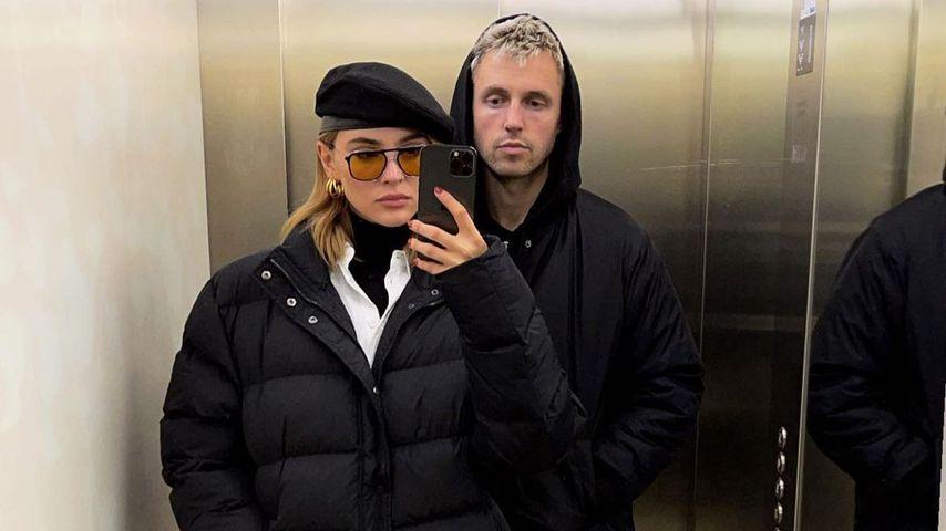 Stefanie Giesinger mit ihrem Partner Marcus Butler
