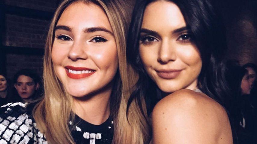 Mini-Kendall: Stefanie Giesinger trifft ihr großes Idol!