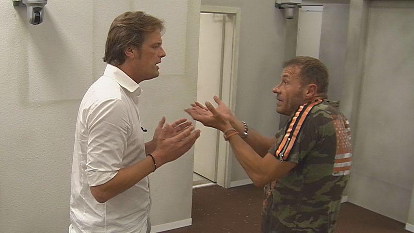 """Steffen von der Beeck und Willi Herren bei """"Promi Big Brother"""""""