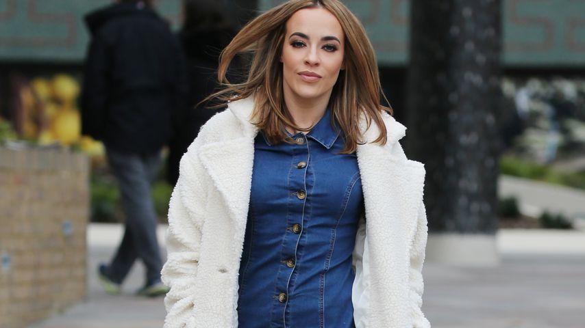 Schauspielerin Stephanie Davis in London, Januar 2019