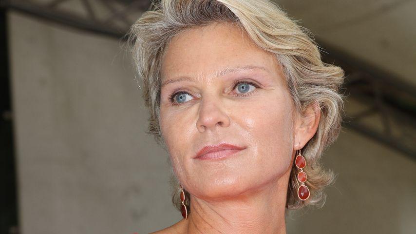 Stephanie Gräfin von Pfuel bei der Rosentaufe