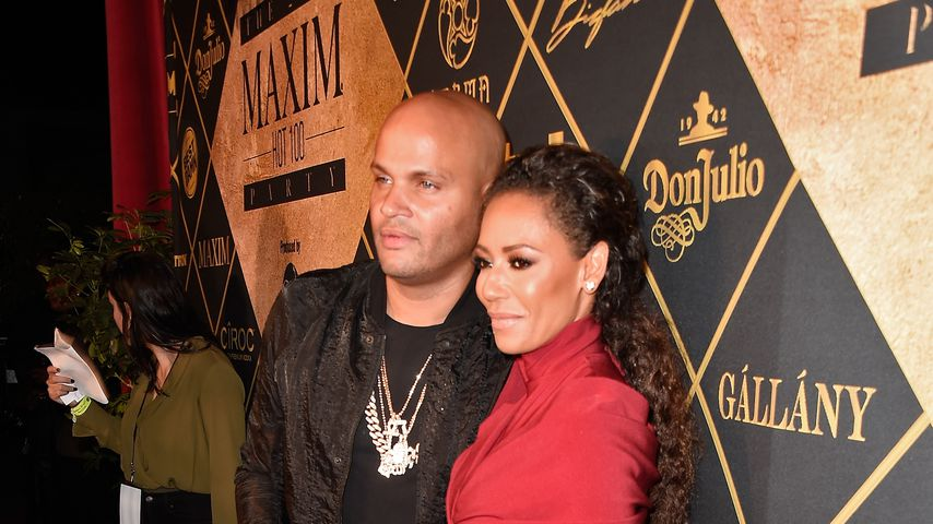 Stephen Belafonte und Mel B. bei der Maxim Hot 100 Party 2016