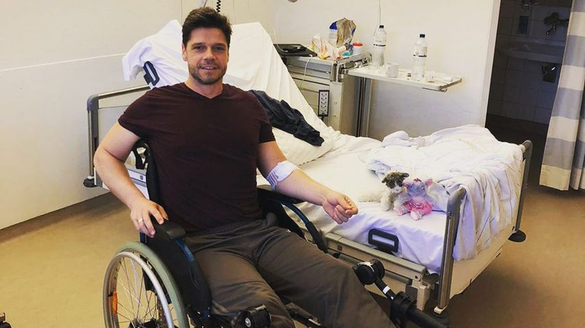 Zehen bei Dreh abgefroren: Stephen Dürr im Spital