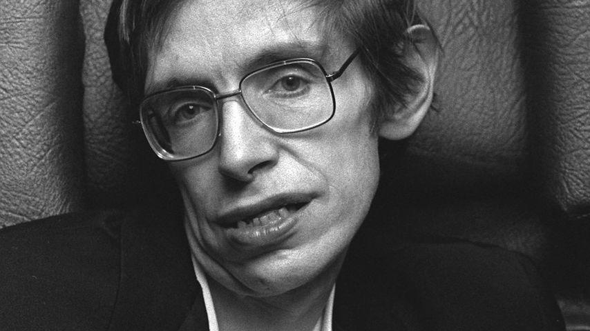 Stephen Hawking in jungen Jahren