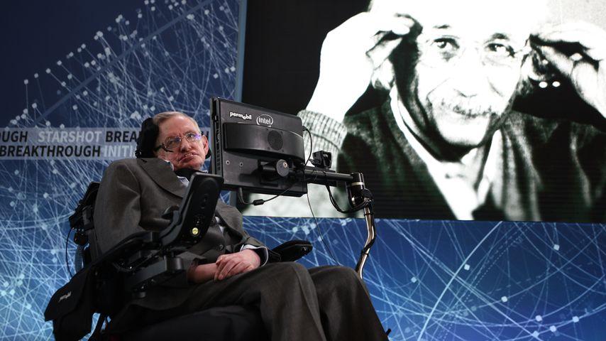 Stephen Hawking (†76): Diese Formel kommt auf sein Grab